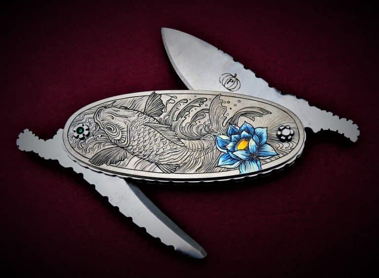 Pelagus : des bijoux de couteaux