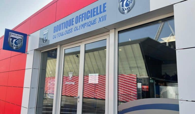 La boutique du TO XIII s'installe à Ernest Wallon