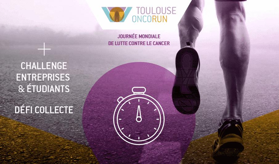 Organisée par La Ligue contre le cancer de Haute Garonne, la 3ème édition de la Toulouse Onco Run, ce 7 février, sera virtuelle