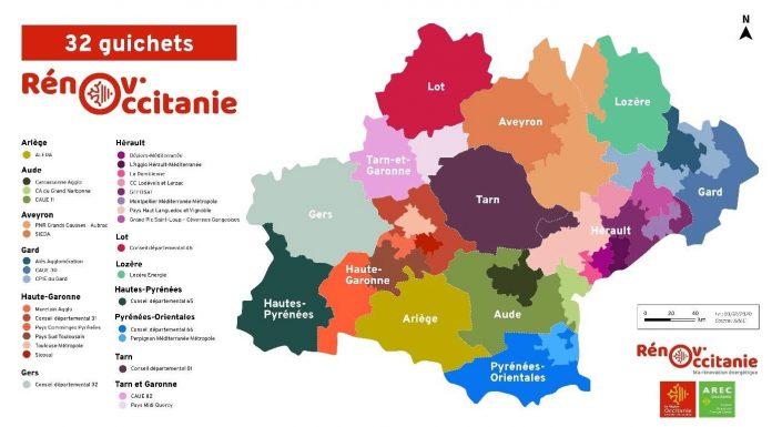 Renov'Occitanie guichets uniques