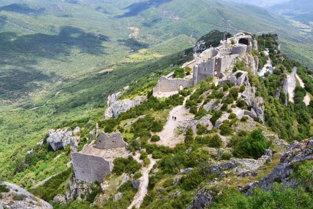 Un ultra-trail de 320 km sur le sentier cathare de l'Aude cet été © CC0 Domaine public