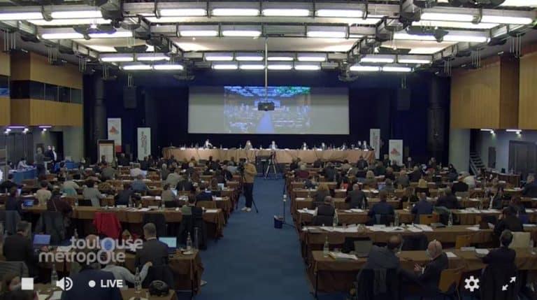 Conseil de Toulouse métropole : débats sur la transparence et les enjeux de la crise