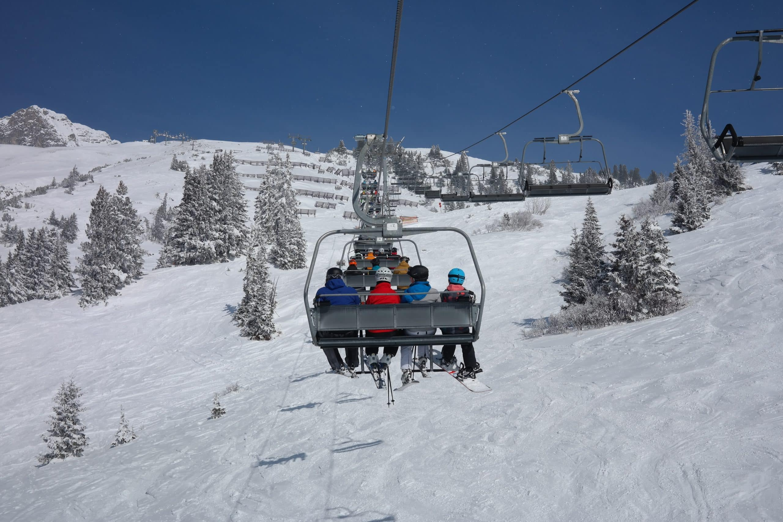 telesiege station ski