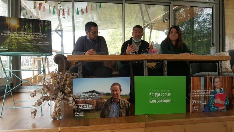Le parti Génération Écologie s'implante en Haute-Garonne