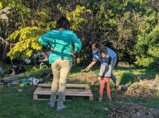 À Toulouse, une cinquantaine d'habitants veulent sauver leur jardin collectif ©La Biscotte