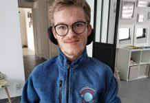 Avec son association Handitim, Timothée Griseri veut sensibiliser la société au handicap ©ThimothéeGriseri