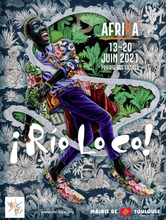 Affiche de Rio Loco 2021
