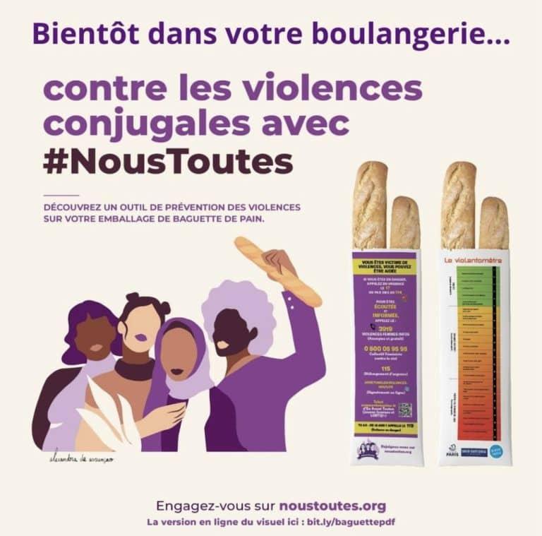 Haute-Garonne : Des sacs à pains dans les boulangeries contre les violences conjugales