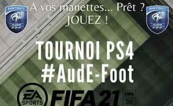 Le district de football de l'Aude organise un e-tournoi Fifa 21 ouvert à tous les habitants du département ©FFF DistrictDeL'Aude