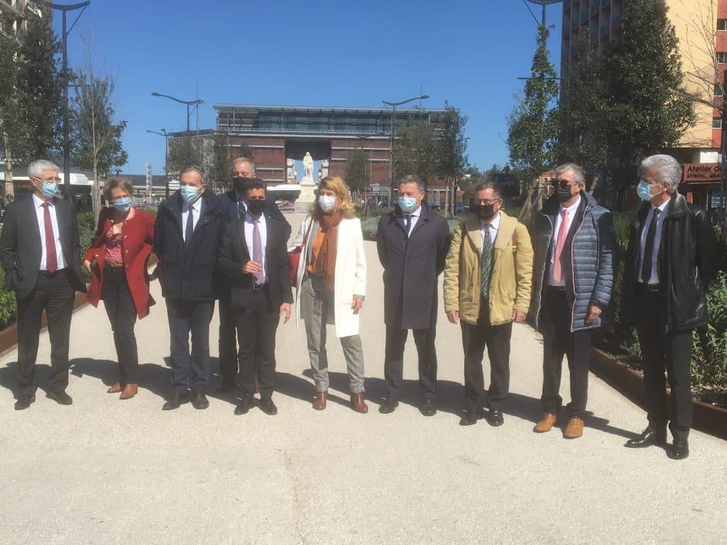 Une dizaine de vice-présidents de Toulouse Métropole apporte leur soutien à la candidature de Vincent Terrail-Novès aux régionales 2021 ©PS