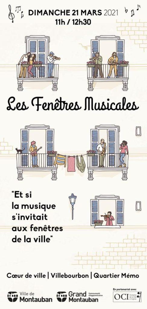 concerts fenêtres Montauban