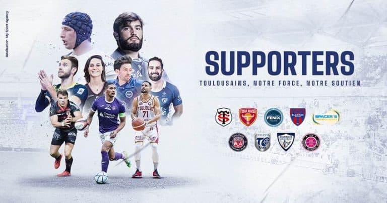Les clubs sportifs de Toulouse s'associent pour s'adresser au public