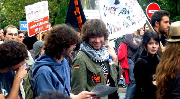 manifestation jeunes