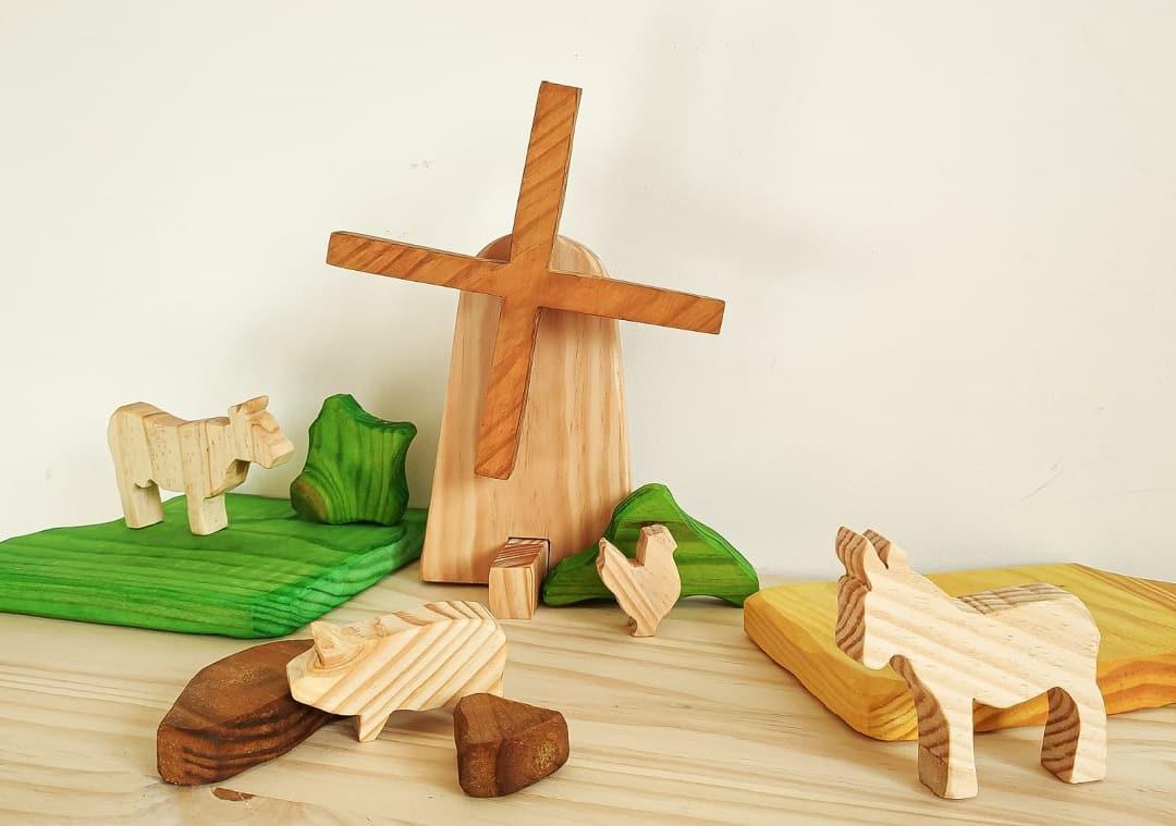 Famille Baloo jouets en bois