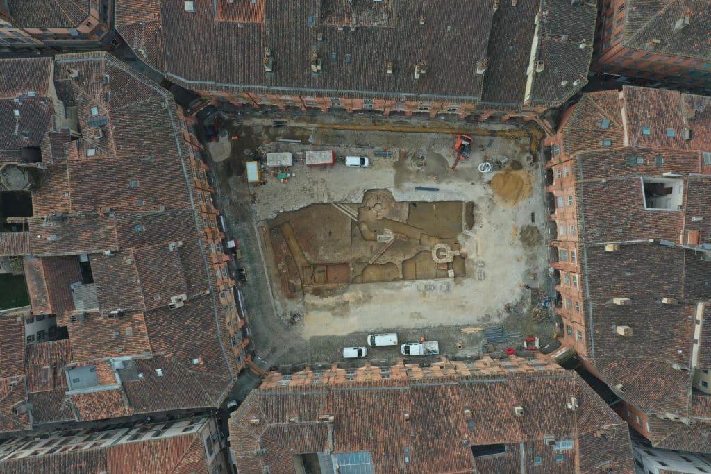 fouilles archéologiques Montauban