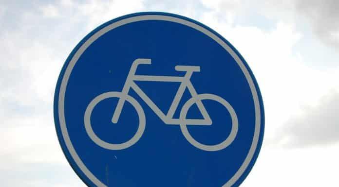 panneau piste cyclable velo CC Arenkens