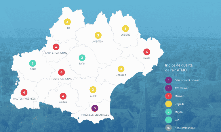 Alerte pollution aux particules fines en Haute-Garonne
