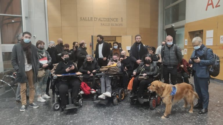 Handicap. Le tribunal de Toulouse occupé pour dénoncer le manque d'accessibilité
