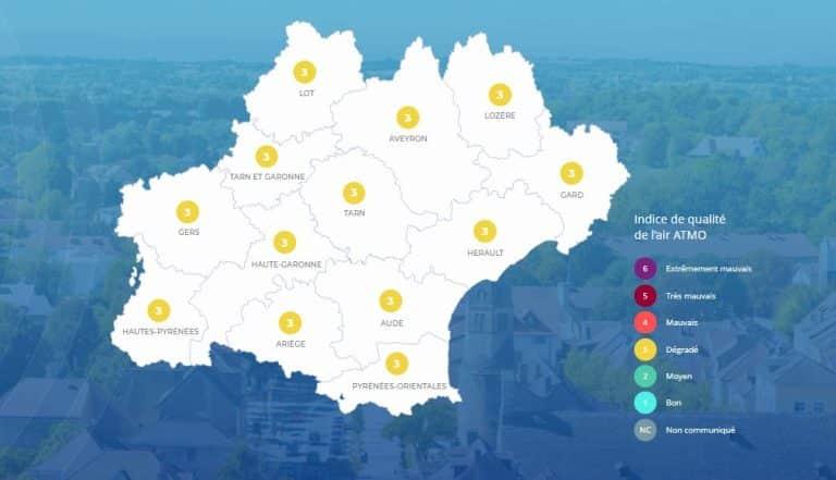 Pollution : des concentrations d'ozone constatées dans la région