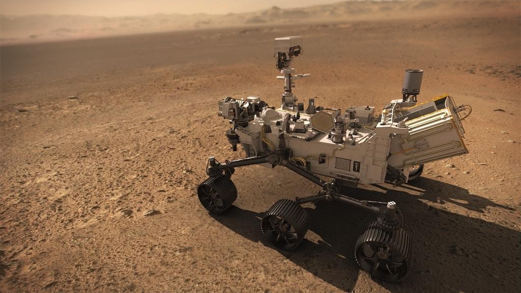 Rover Perseverance Mars SuperCam