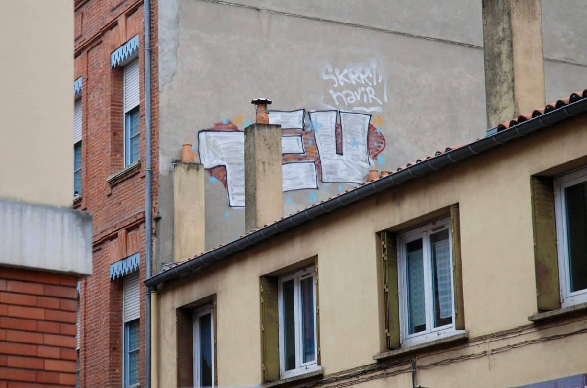 Un euro graffeur, © Aurélie Rodrigo