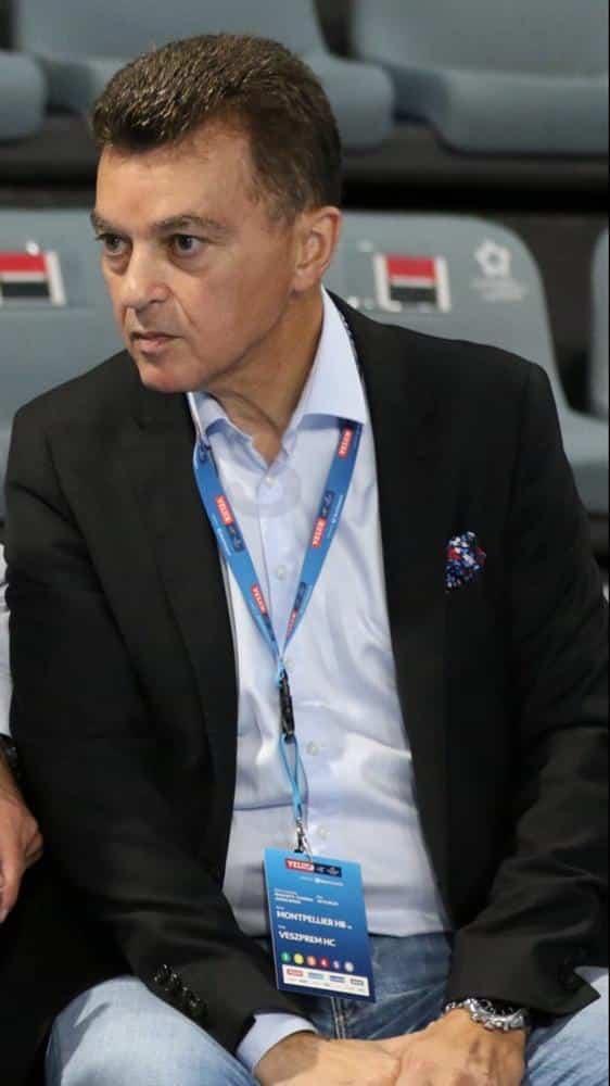 Le Montpelliérain Rémy Lévy élu à la Fédération européenne de handball