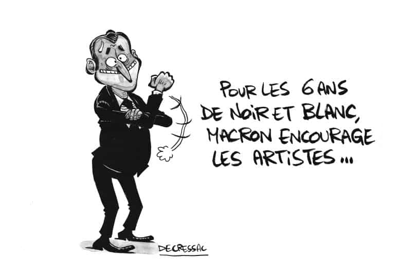 Dessin de presse. 6 ans de caricatures pour l'iconoclaste fanzine toulousain Noir & Blanc
