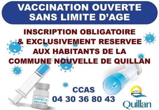 Vaccination : le maire Quillan désavoué par l'ARS et la préfecture