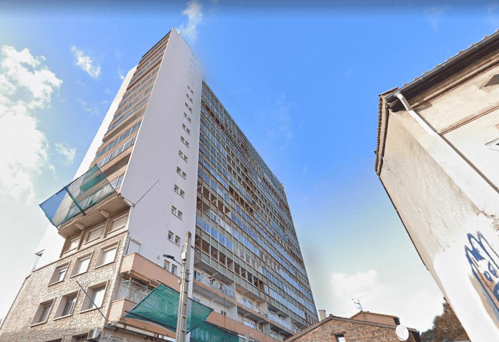 Le plan de rénovation de la copropriété Matabiau à Toulouse est lancé. Capture d'écran © Google Maps