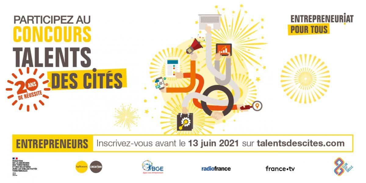 Le concours talents des cités s'est ouvert le 13 avril dernier.