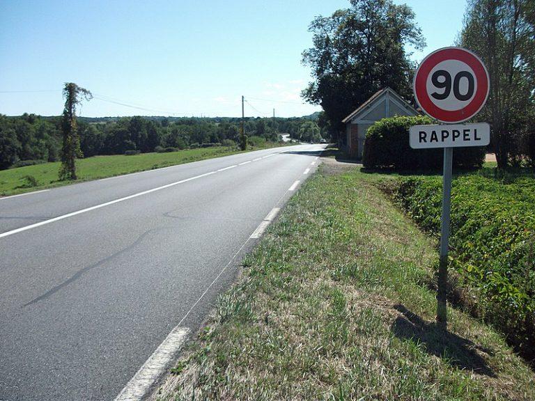 Aveyron : 1 040 kilomètres de routes de nouveau limités à 90 km/h