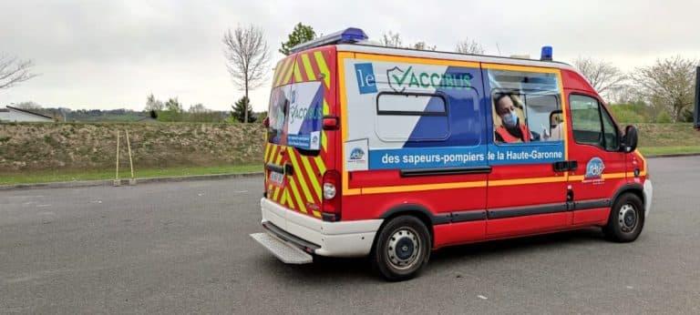 """Personnes vulnérables : toutes les dates et lieux de passage du """"Vaccibus"""" en Haute-Garonne"""