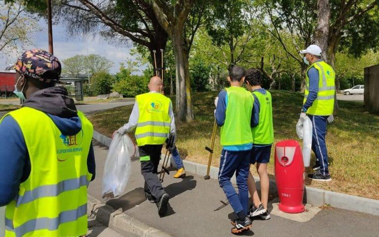 Bellefontaine Clean Challenge, les jeunes nettoient leur quartier