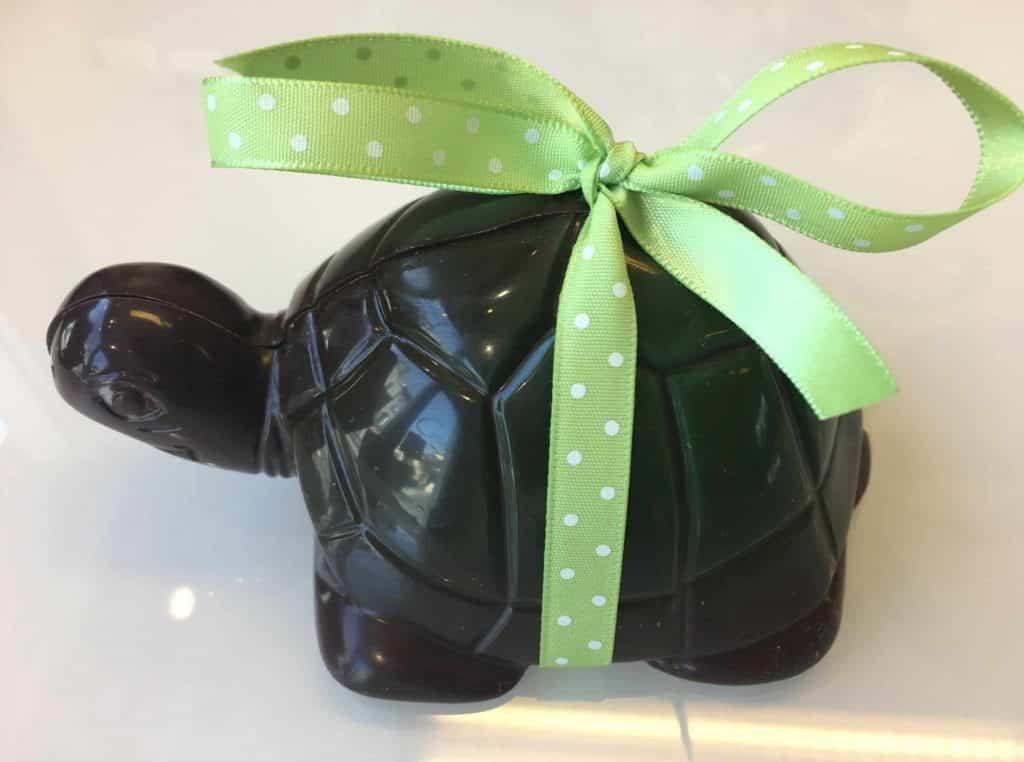Les tortues du chocolatier Castan font des oeufs... de Pâques ! ©Castan