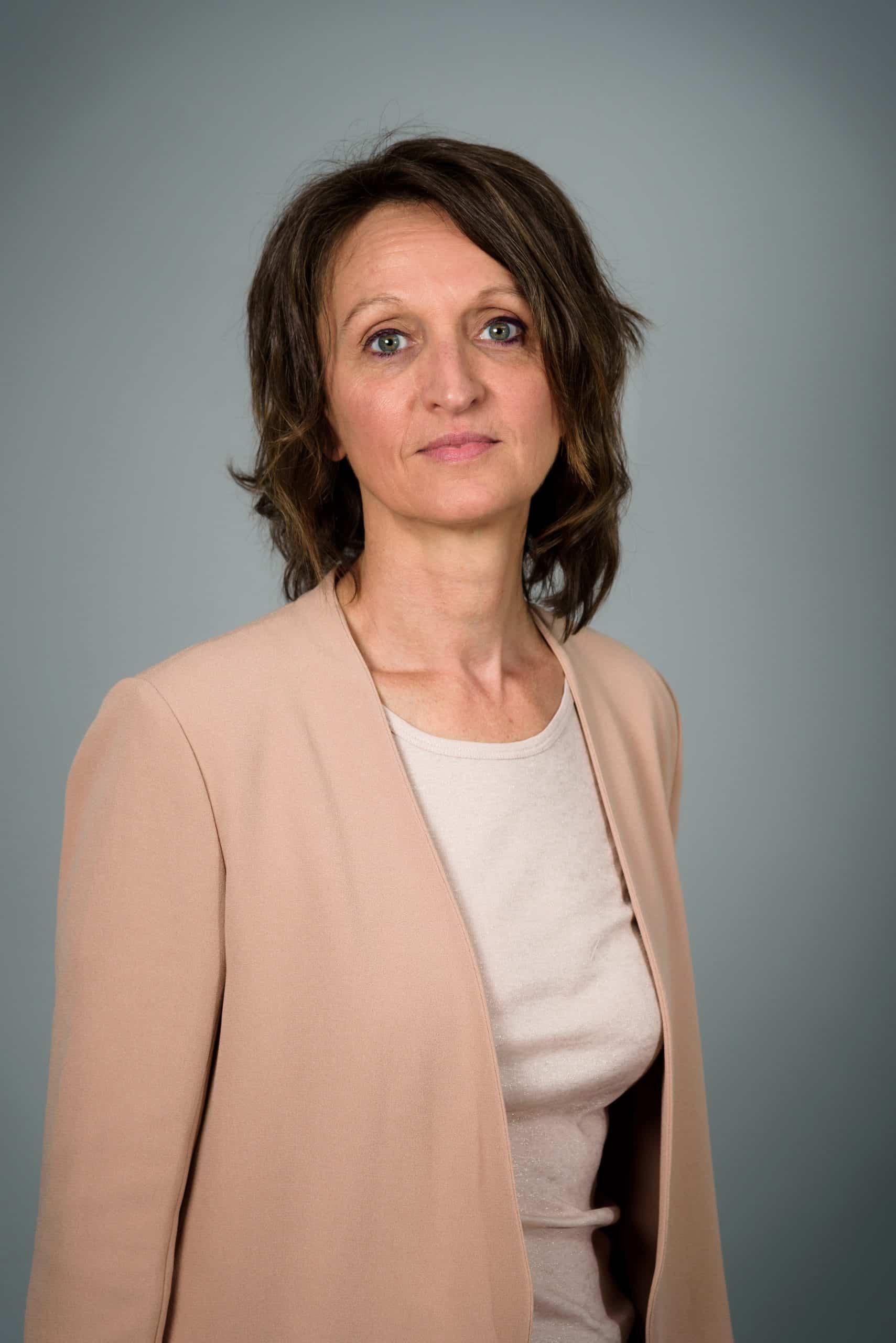 """Portait de Pascale Bouillé, fondatrice de """" Flash Therapeutics"""""""