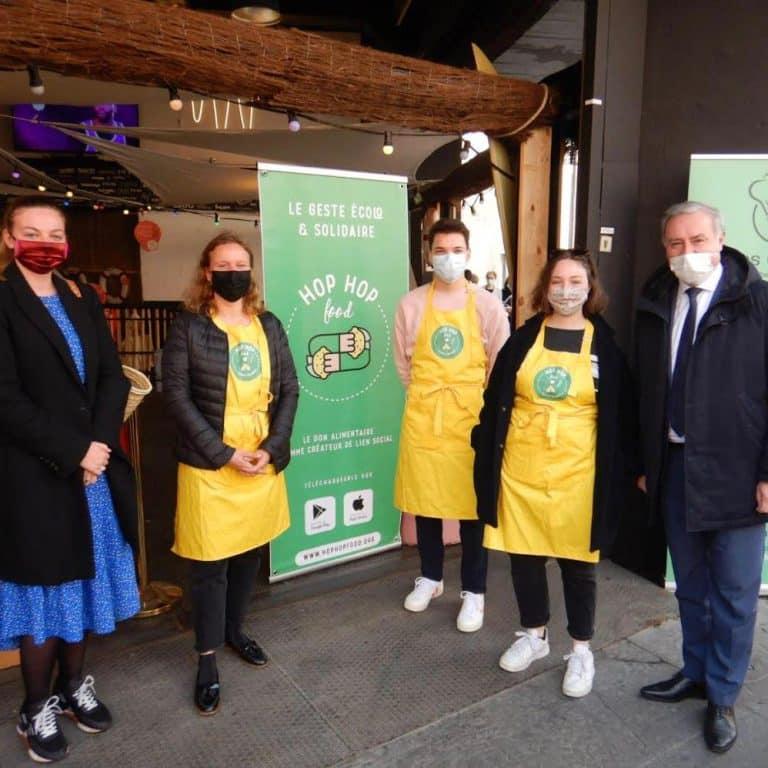 Toulouse : Les commerçants arrivent sur l'application de dons alimentaires HopHopFood