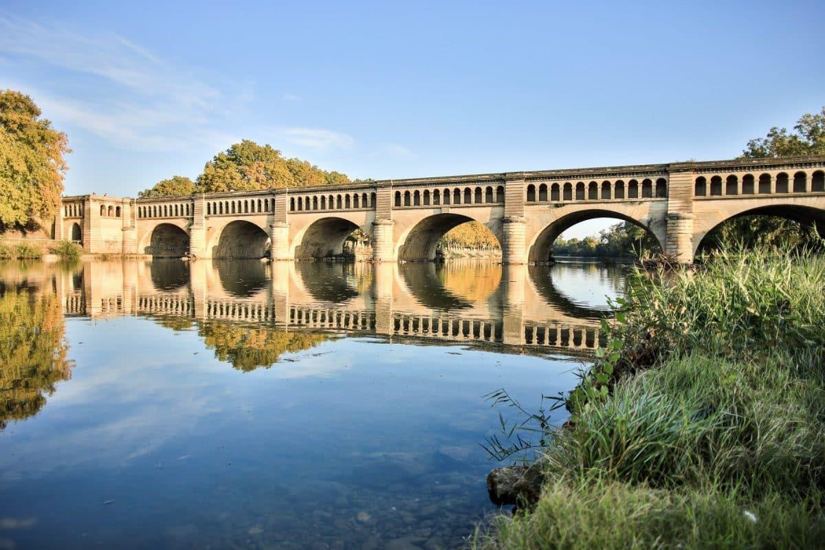 Pont Canal Orb Canal du Midi marque