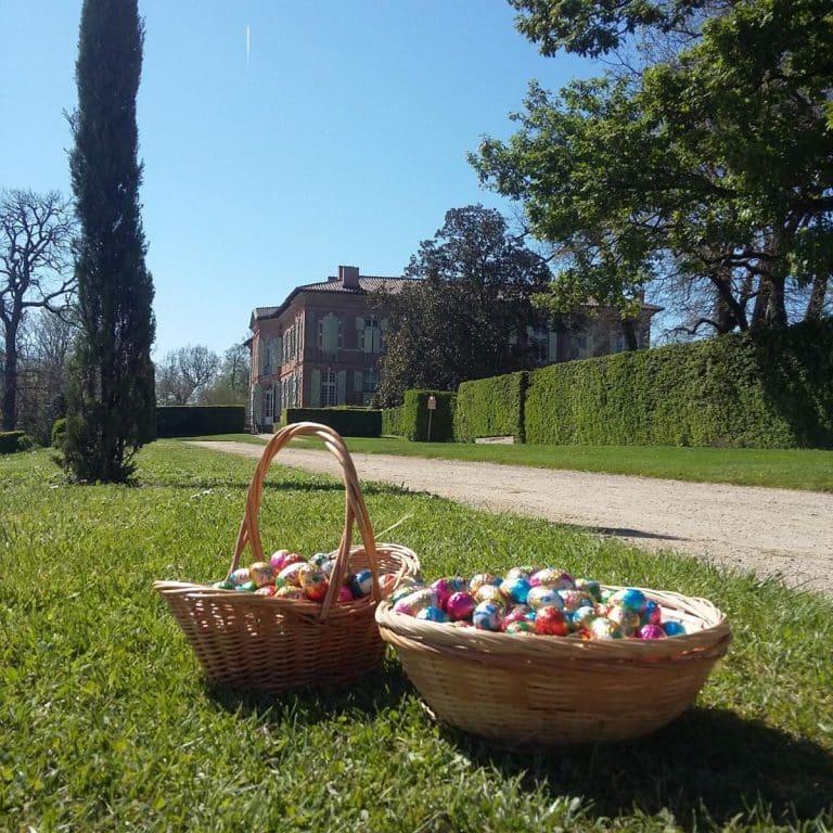 Une chasse aux œufs de Pâques au Chateau de Merville