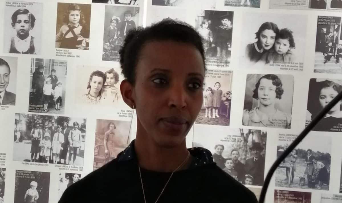 Jeanne Uwimbabazi, rescapée du génocide des Tutsis au Rwanda et présidente le l'association Diaspora rwandaise de Toulouse