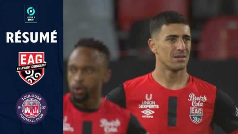 Ligue 2 : Le TFC se contente d'un match nul à Guingamp (1-1)