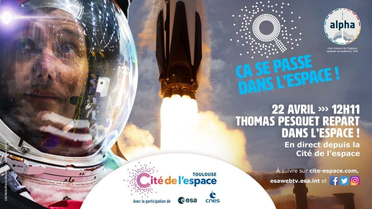 Thomas Pesquet Cité Espace