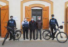 police municipale cugnaux vélo