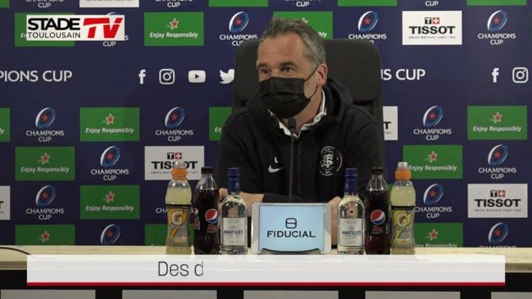 Ugo Mola : «On va jouer une équipe très en forme»