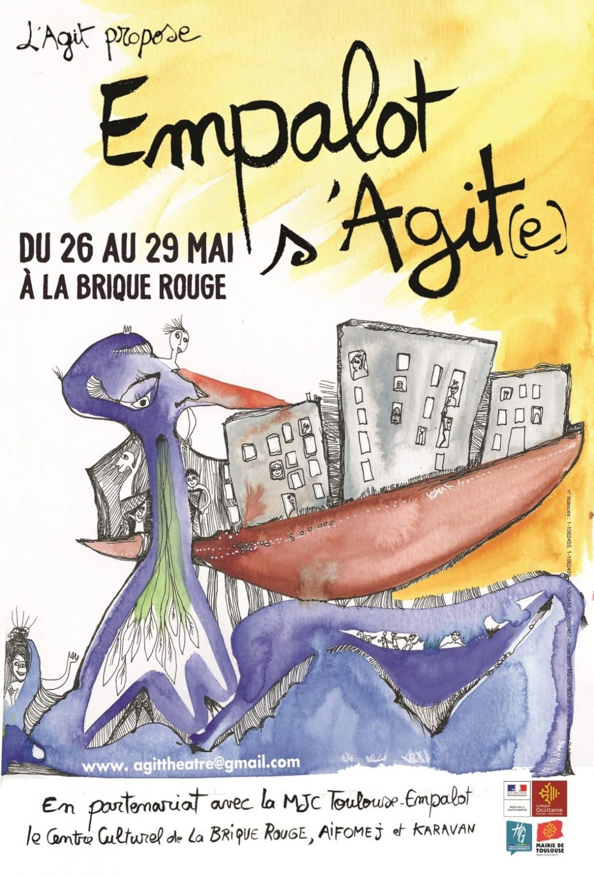 Agit_Empalot-s-Agite2021_affiche01_© Marion Bouvarel