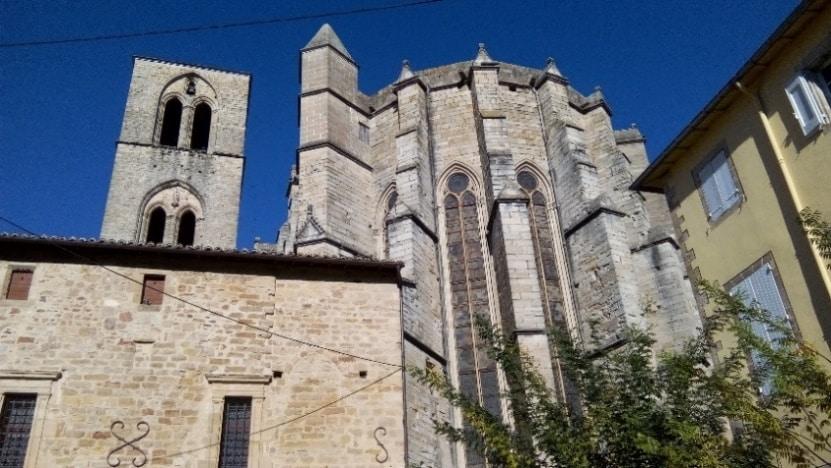 restauration cathédrale Lodève