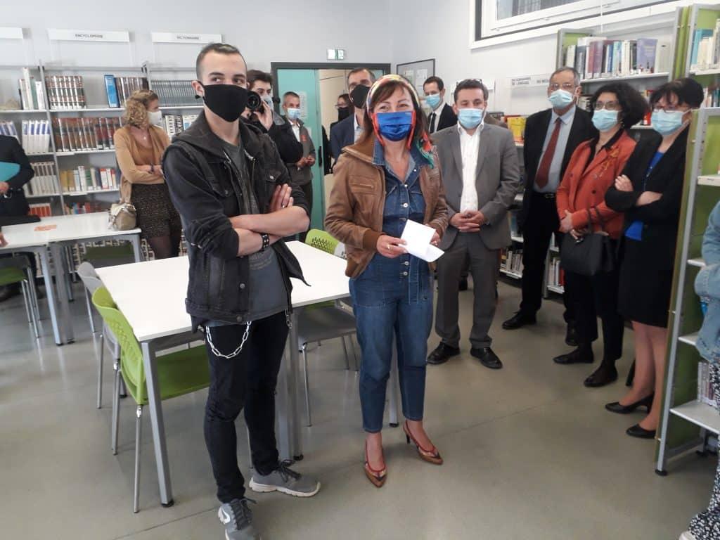 La Région Occitanie va expérimenter deux nouvelles mesures sanitaires dans les lycées, pour limiter la circulation de la Covid-19 @Région Occitanie