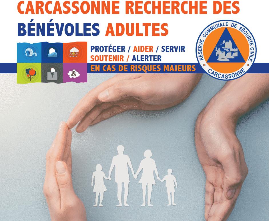 La Ville de Carcassonne recrute des bénévoles pour constituer sa nouvelle Réserve communale de sécurité civile @VilleDeCarcassonne