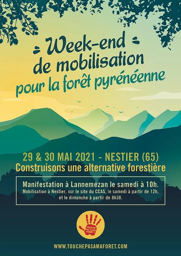Hautes-Pyrénées : mobilisation contre un projet de méga scierie à Lannemezan