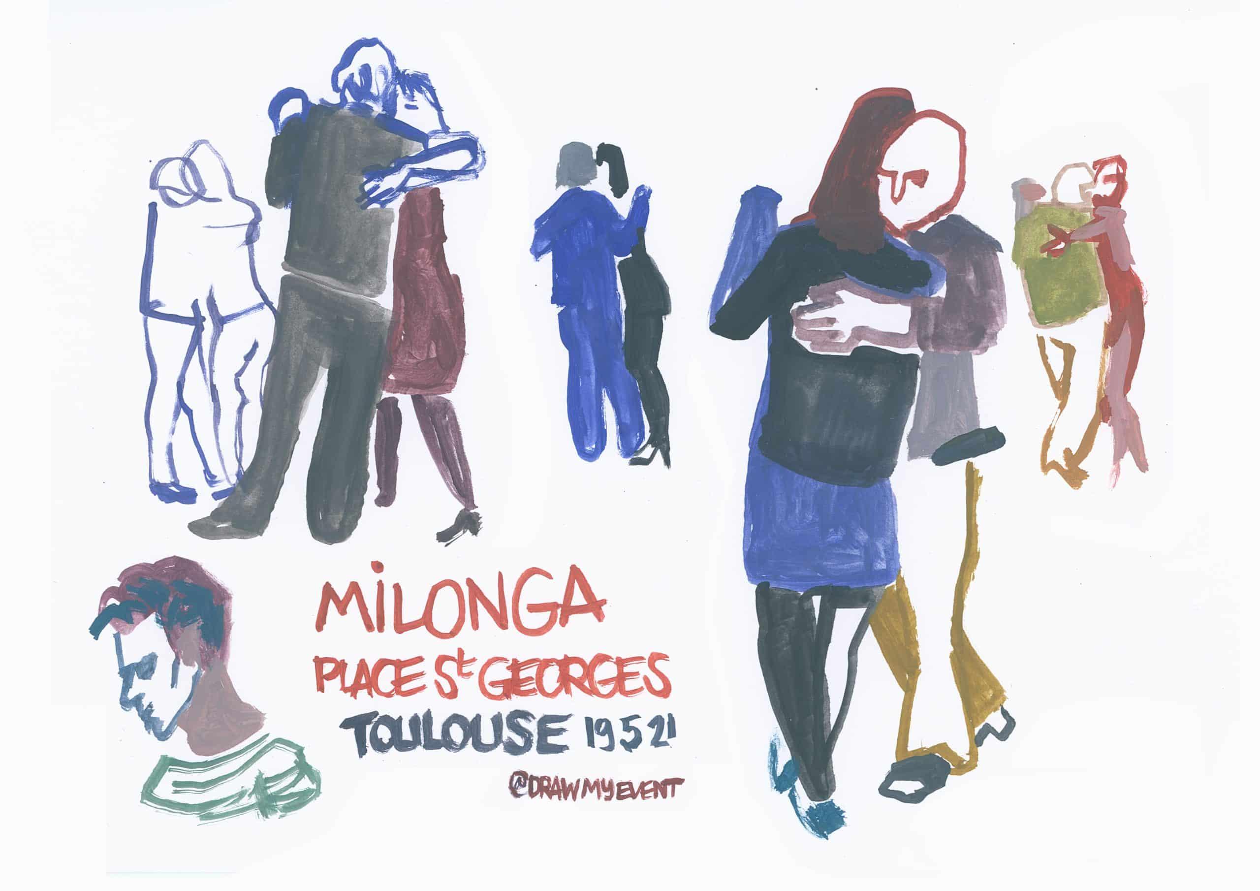 Luc Perillat dessin Toulouse artiste déconfinement