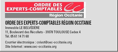 Signature Ordre experts comptables Occitanie